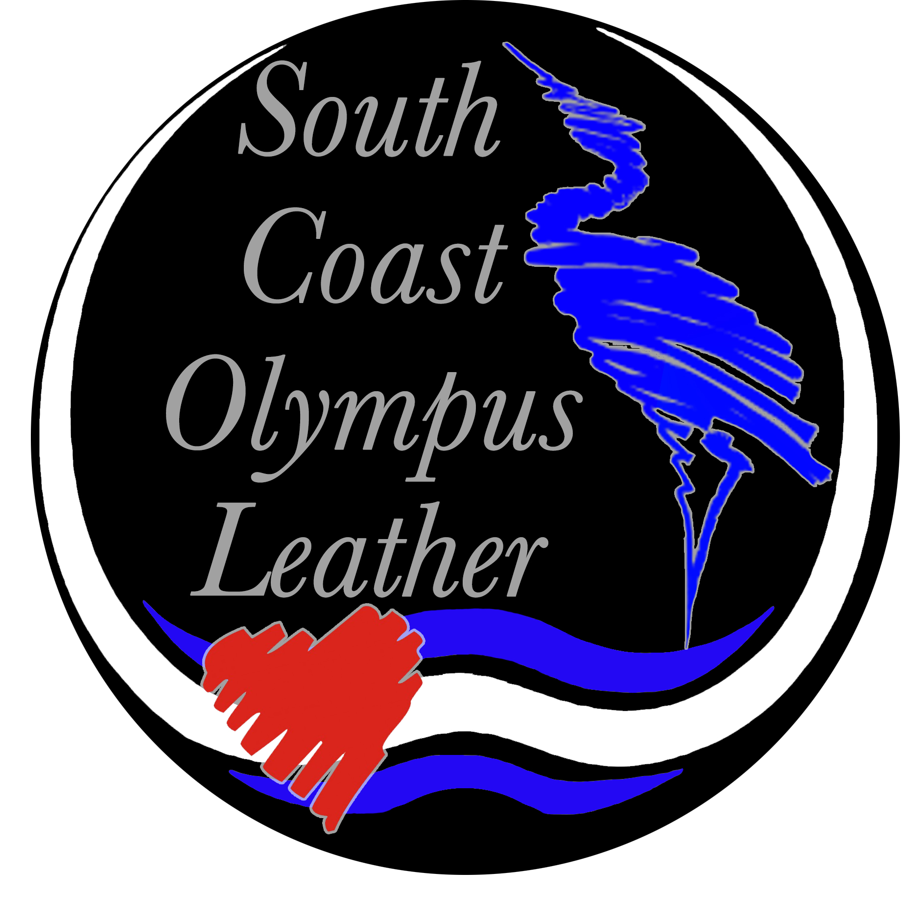 south coast olympus leather Logo